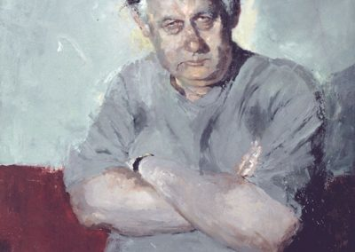 Bob Ellis - 1999 - Writer/Filmmaker - Archibald Finalist 1999 - National Portrait Gallery Collection